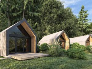 У собственников дачных участков и ИЖС появилась новая возможность заработать – строительство двух-трёх гостевых домиков и сдача их в аренду