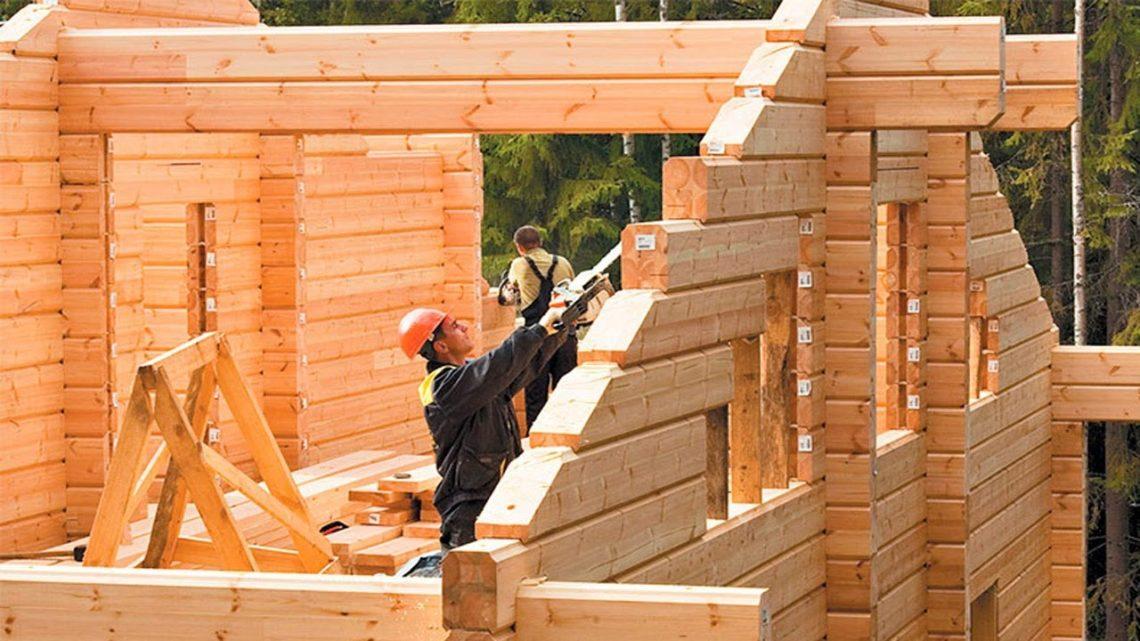 В России зафиксирован рекорд по объёму строительству деревянных домов